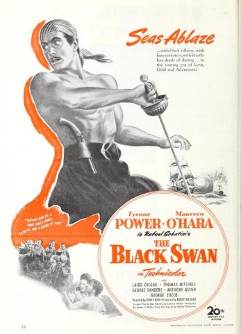 The Black Swan: Tyrone Power and Maureen O'Hara