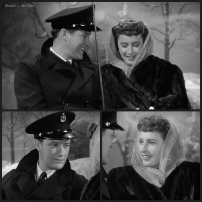 Christmas in Connecticut: Barbara Stanwyck and Dennis Morgan