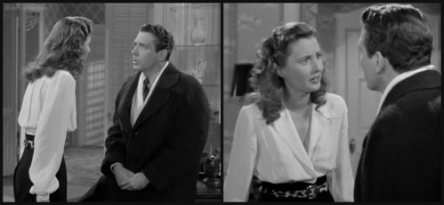 Christmas in Connecticut: Barbara Stanwyck and Robert Shayne