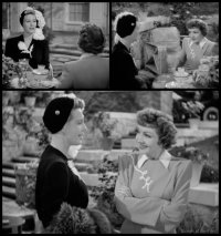 Skylark: Claudette Colbert and Binnie Barnes