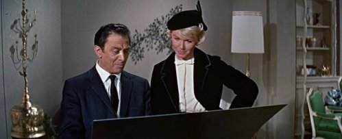 Pillow Talk: Marcel Dalio and Doris Day