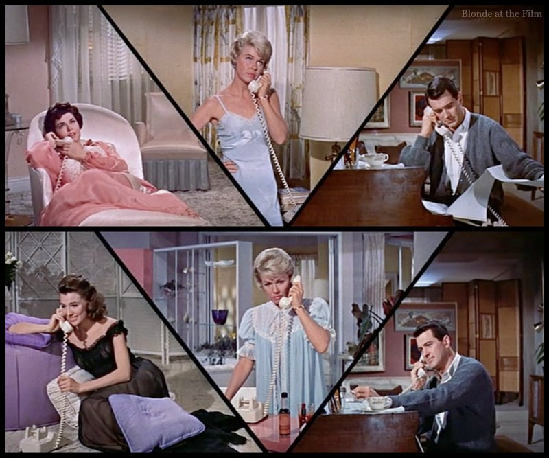 Pillow Talk 1959 The Blonde At The Film