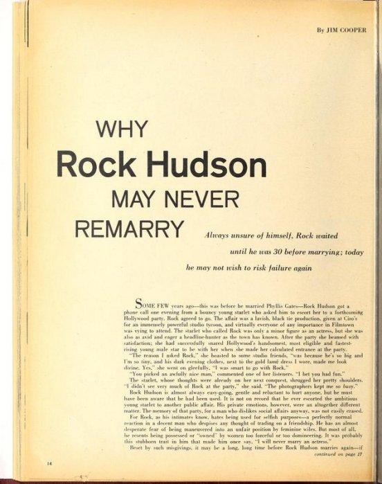 Pillow Talk: Rock Hudson