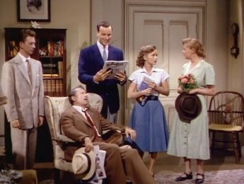I Love Melvin: Debbie Reynolds, Richard Anderson, Una Merkel, Allyn Joslyn, and Donald O'Connor