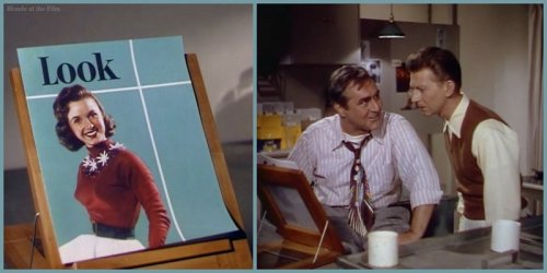 I Love Melvin: Donald O'Connor and Jim Backus