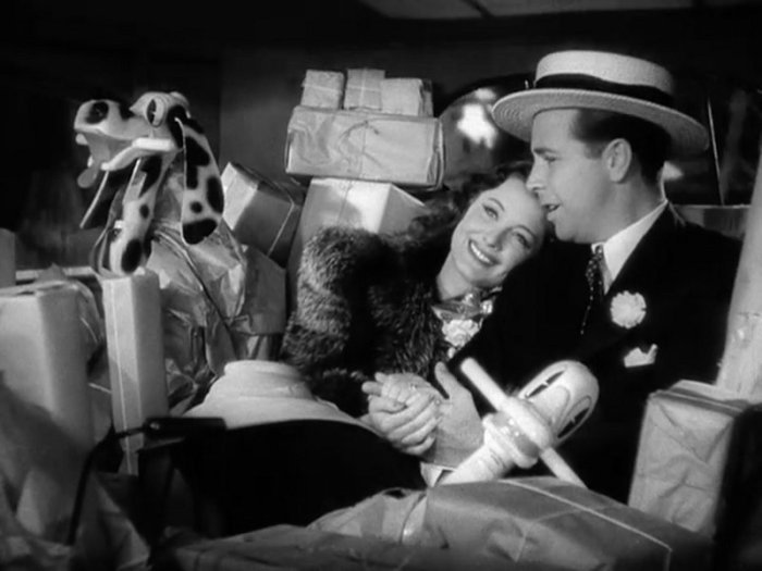 Christmas in July: Dick Powell and Ellen Drew