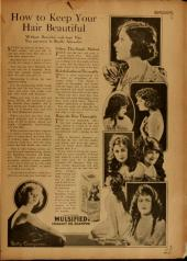 Motion Picture Magazine, January, 1921 via: http://archive.org/stream/motionpicturemag20brew#page/4/mode/2up/search/shampoo