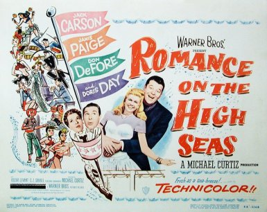 Romance on the High Seas: Doris Day and Jack Carson