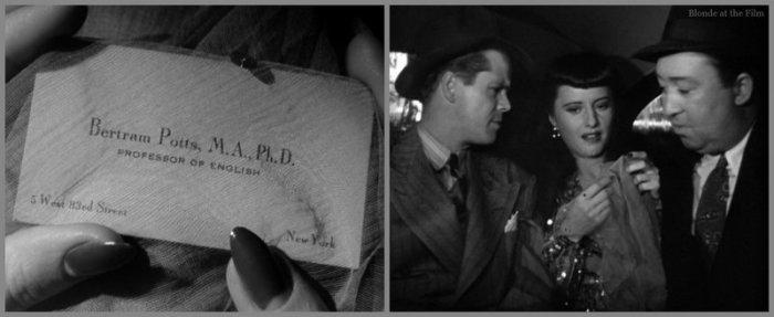Ball of Fire: Barbara Stanwyck & Dan Duryea