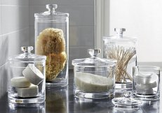 Crate and Barrel via: https://www.crateandbarrel.com/glass-canisters/f37250
