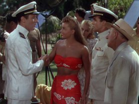 On An Island With You: Esther Williams, Peter Lawford, Ricardo Montalban, and Jimmy Durante