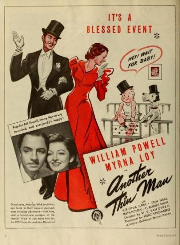 Another Thin Man: William Powell and Myrna Loy