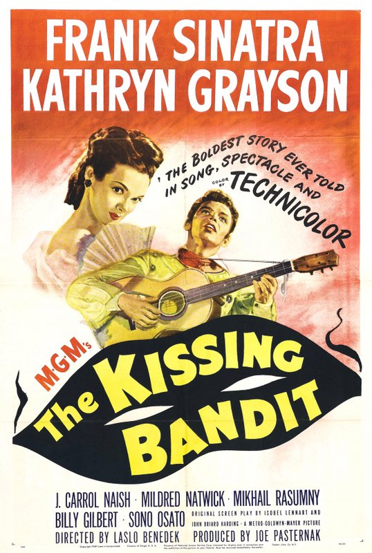 The Kissing Bandit (1949) – The Blonde at the Film