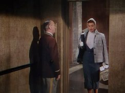 Esther Williams rides with an operator in Easy to Love