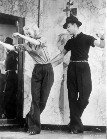 Swing Time: Ginger Rogers & Hermes Pan
