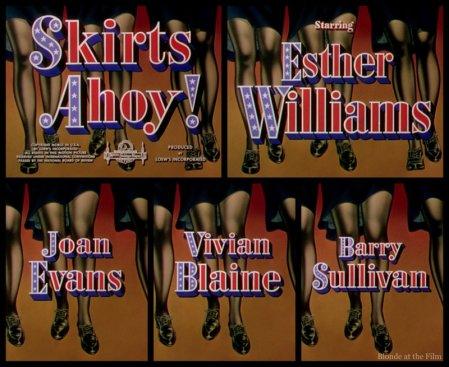 Skirts Ahoy: Esther Williams, Joan Evans, Vivian Blaine, and Barry Sullivan