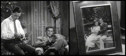Holiday Affair: Robert Mitchum & Wendell Corey