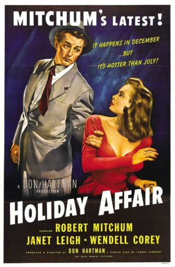 Holiday Affair: Janet Leigh & Robert Mitchum