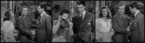 The Philadelphia Story: James Stewart, Katharine Hepburn, John Howard, Cary Grant, and Ruth Hussey
