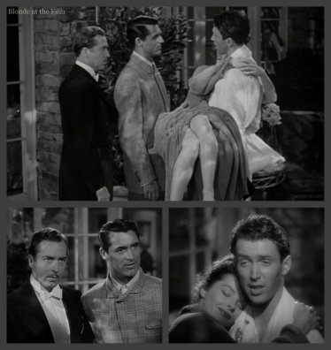 The Philadelphia Story: Katharine Hepburn, John Howard, Cary Grant, and James Stewart