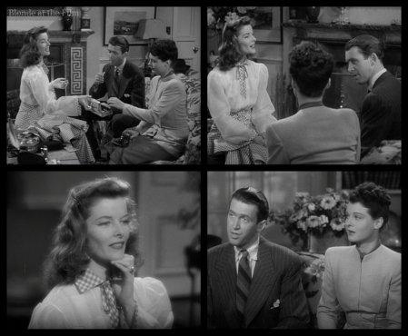 The Philadelphia Story: James Stewart, Katharine Hepburn, and Ruth Hussey
