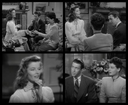 The Philadelphia Story: James Stewart, Katharine Hepburn, and Ruth Hussey
