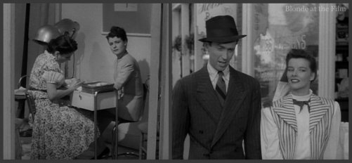 The Philadelphia Story: Katharine Hepburn, James Stewart, and Ruth Hussey