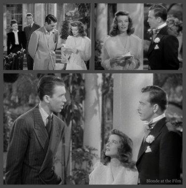 The Philadelphia Story: James Stewart, John Howard, and Katharine Hepburn