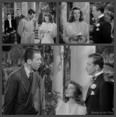The Philadelphia Story: James Stewart, John Howard, and Katharine Hepburn