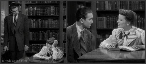 The Philadelphia Story: Katharine Hepburn and James Stewart