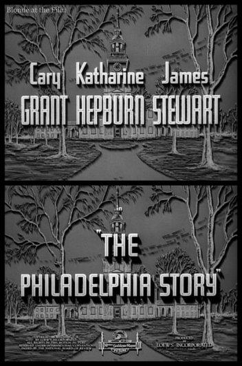 The Philadelphia Story: James Stewart, Cary Grant, and Katharine Hepburn