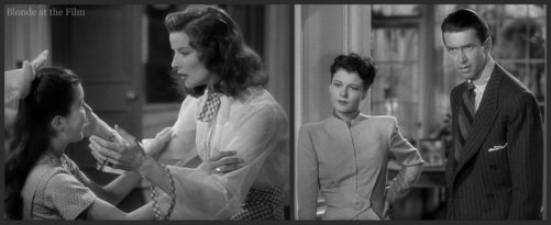 The Philadelphia Story: James Stewart, Ruth Hussey, Katharine Hepburn, and Virginia Weidler
