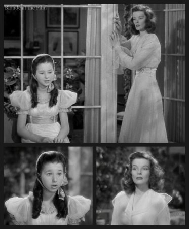 The Philadelphia Story: Katharine Hepburn and Virginia Weidler