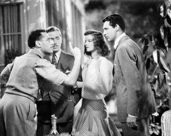 The Philadelphia Story: Katharine Hepburn, George Cukor, John Howard, and Cary Grant