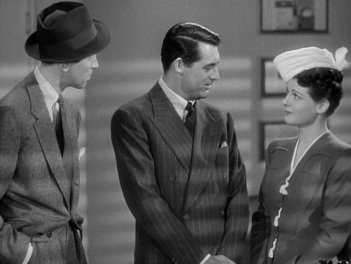 The Philadelphia Story: James Stewart, Cary Grant, and Ruth Hussey