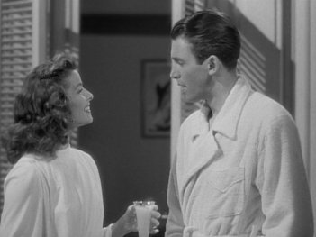 The Philadelphia Story: Katharine Hepburn and James Stewart