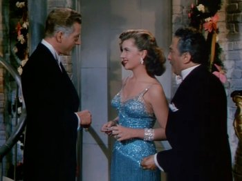 On the Riviera: Corinne Calvet and Danny Kaye