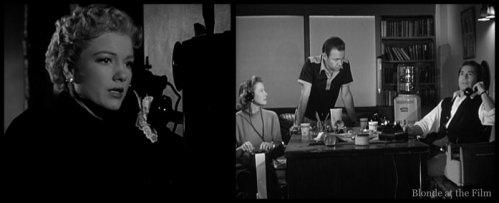 The Blue Gardenia: Anne Baxter and Richard Conte