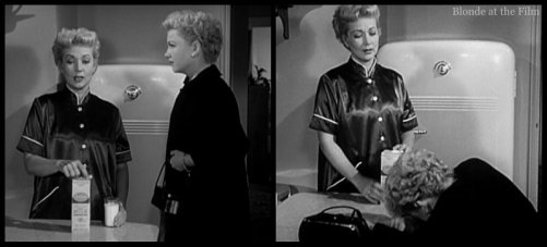 The Blue Gardenia: Anne Baxter and Ann Sothern
