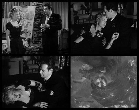 The Blue Gardenia: Raymond Burr and Anne Baxter