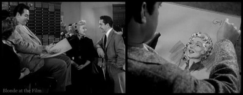 The Blue Gardenia: Ann Sothern, Raymond Burr, and Richard Conte