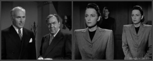 The Dark Mirror: Olivia de Havilland and Thomas Mitchell