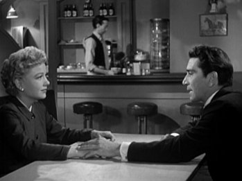 The Blue Gardenia: Anne Baxter and Richard Conte
