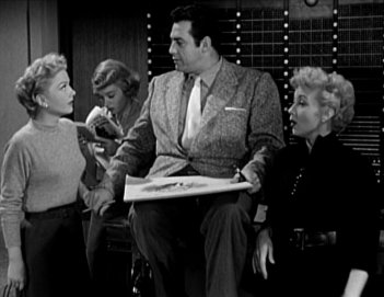 The Blue Gardenia: Anne Baxter, Jeff Donnell, Raymond Burr, and Ann Sothern