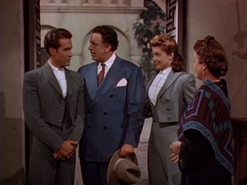 Fiesta: Esther Williams, Ricardo Montalban, Mary Astor, and Fortunio Bonanova