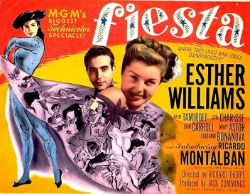 Fiesta: Esther Williams and Ricardo Montalban