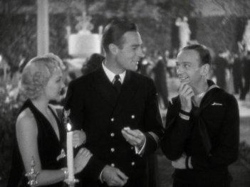 Follow the Fleet: Fred Astaire, Randolph Scott, and Astrid Allwyn