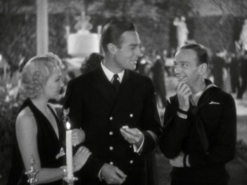 Follow the Fleet: Fred Astaire, Randolph Scott, and Astrid Allwyn