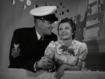 Follow the Fleet: Randolph Scott and Harriet Nelson