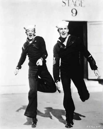 Follow the Fleet: Fred Astaire & Randolph Scott